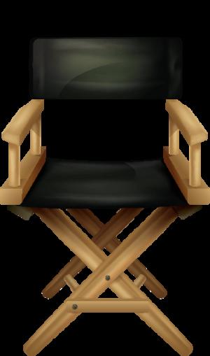Directors Chair blanco compr